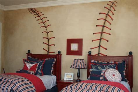 Baseball Themed Bedroom by Baseball Theme Boy S Room