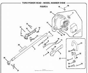 Homelite 51946 25 4 Cc Gas Power Head S  N 312000001  U0026 Up Parts Diagram For General Assembly