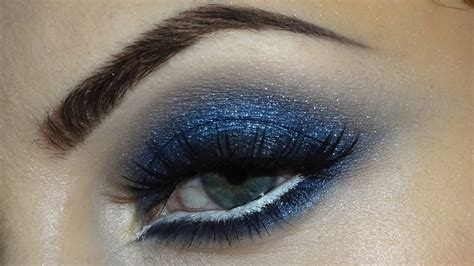 blue smokey eyes youtube