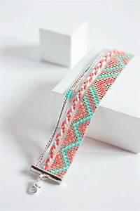 best bracelet perles 2017 2018 bracelet tisse perles With robe fourreau combiné avec bracelet argent charms