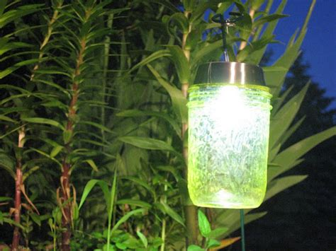diy solar lights made from jars jar crafts