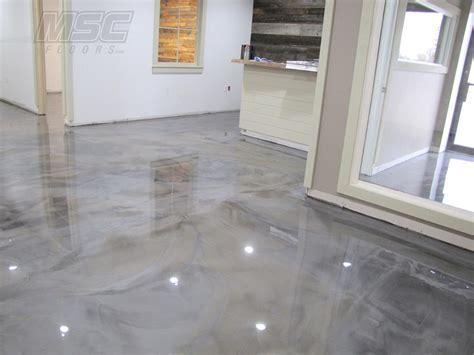 Metallic Epoxy Floor Systems By Michigan Specialty