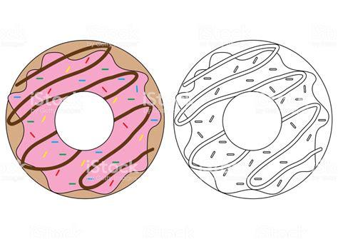 dessin aliment coloriage donut ohbqinfo