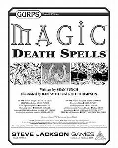 Dungeon Fantastic: GURPS Magic: Death Spells