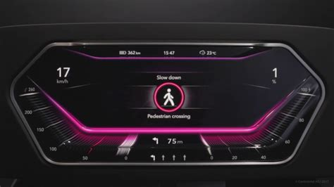 Digital Dashboards For Cars by 3d Display Surface For Digital Instrument Cluster In Car
