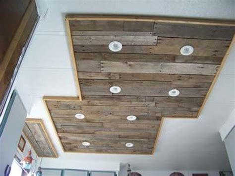 pallet ceiling ideas pallet ideas