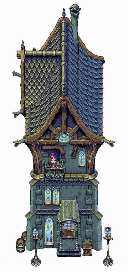 Steampunk Pixel Cyangmou Pixeljoint Pixelart Games Jrpg
