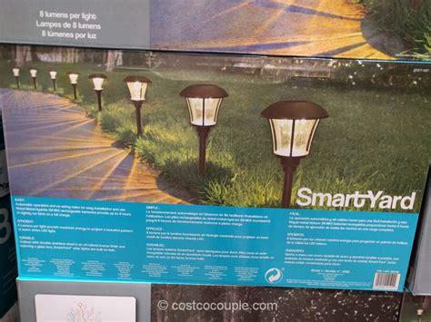smartyard led solar pathway lights outdoor lights costco and outdoor lighting menards also
