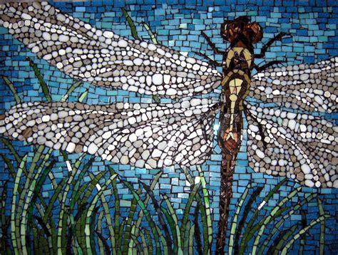 cut mosaic dragonfly