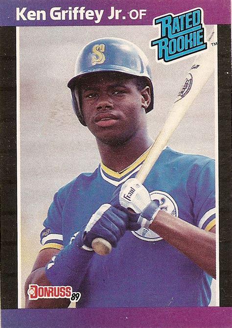 1989 deck ken griffey jr error ken griffey jr s other rookie cards ohio cards