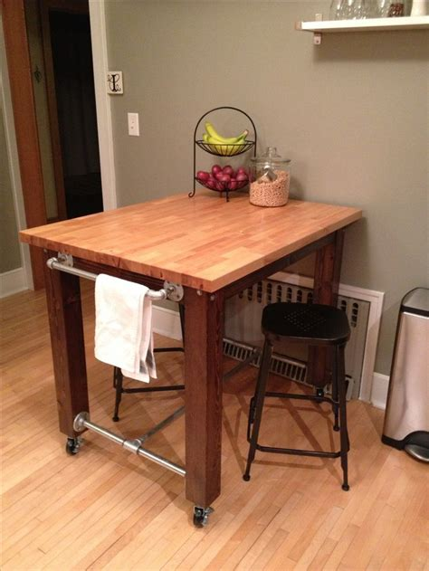 pipe kitchen island 17 best ideas about butcher block table tops on 1526