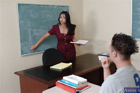 Milf Teacher Mika Tan Is Giving A Good Sex Lesson To Her