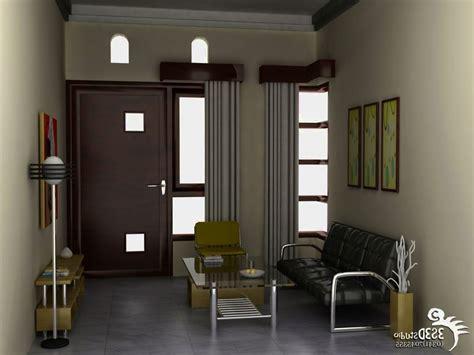 ruang tamu sempit  sederhana