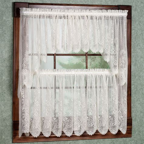 Walmart Lace Cafe Curtains by Lace Cafe Curtains Kitchen Curtain Menzilperde Net