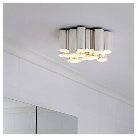 Ikea Bathroom Fixtures by Sodersvik Led лампа за таван Ikea Bath Bathroom