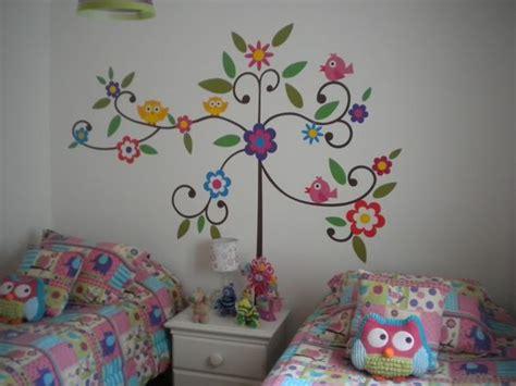 decoracion  buhos  ninas  como organizar la