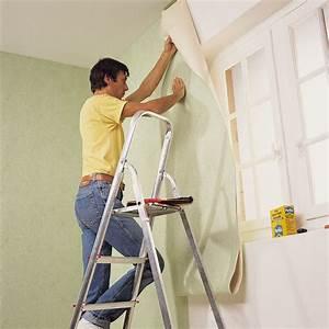 Pose De Papier Peint Intissé : empapelar una pared paso a paso ~ Dailycaller-alerts.com Idées de Décoration