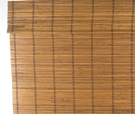 rolgordijn riet bamboe rolgordijn natuur trisq nl
