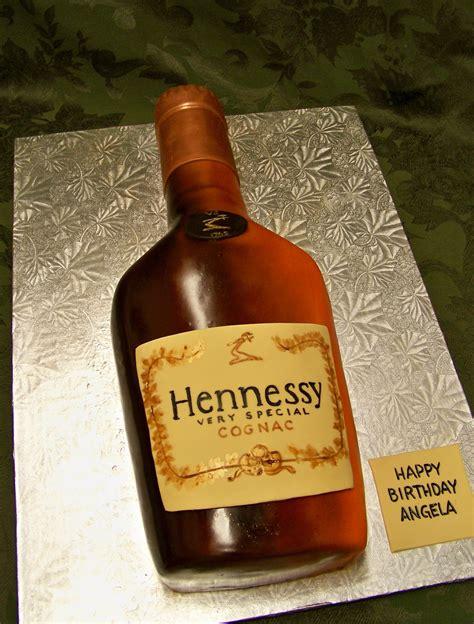 hennessy bottle cake henny treats pinterest bottle