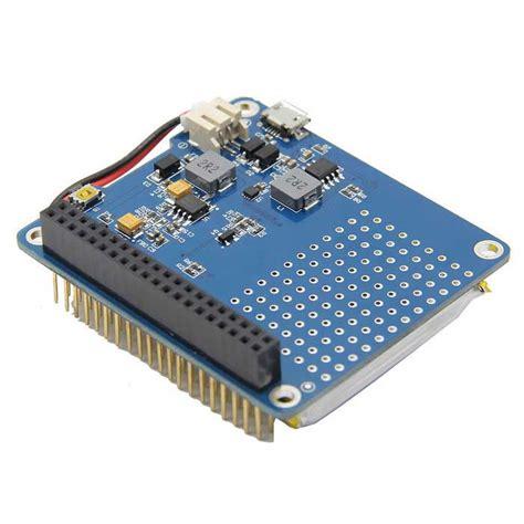 Geekworm Raspi Ups Hat Board Lithium Battery For
