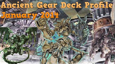 Yugioh Ancient Gear Deck 2014 by Yugioh Ancient Gear Deck January 2014