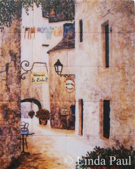 french decor backsplashes french bistro cafe tile