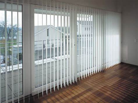 Vertical Blinds Are Practical, Space Saving Window