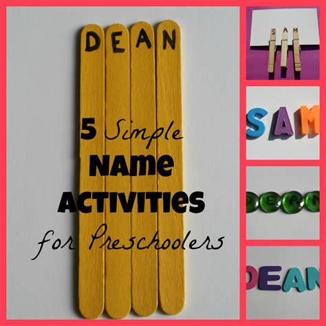 name activities for preschoolers 955 | 5 Simple Name Activities for Preschoolers