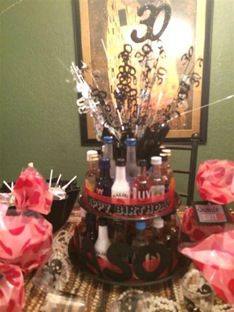 birthday mini liquor bottle cake birthday ideas