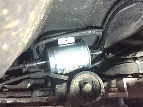 broken fuel  clip  fuel filter volvo forums