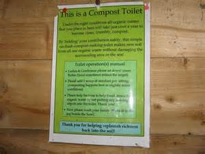 Instructions On The Use Of The Loo At     U00a9 M J Richardson