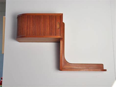 modern floating shelf danish modern teak floating shelf at 1stdibs