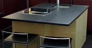 Plan De Travail Marbre Noir : plan de travail granit marbre et decoration ~ Dailycaller-alerts.com Idées de Décoration