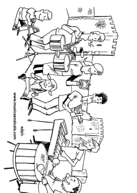 Las nuevas canciones del buho hophop y los dibujos animados para niños. Dibujos para colorear de instrumentos musicales de percusion - Imagui