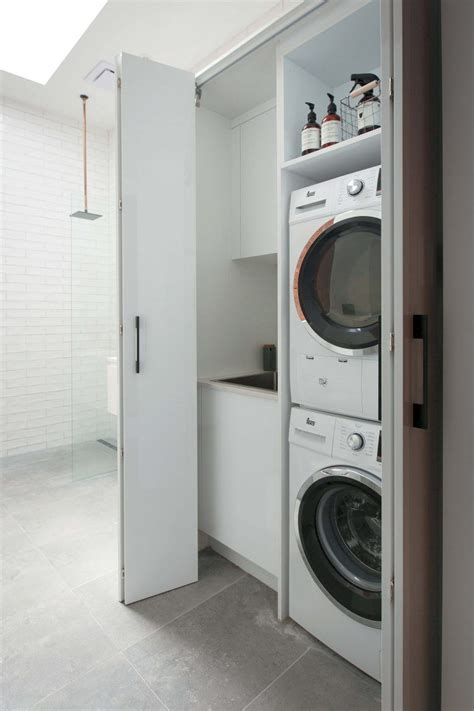 Laundry Cupboard Ideas by A European Laundry Is A Laundry One That Is Tucked