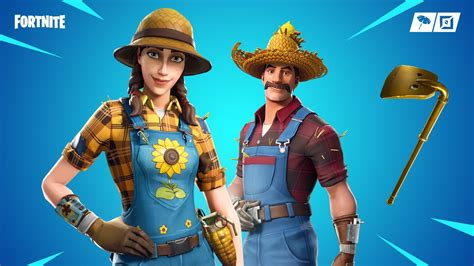 fortnite item shop  march  sunflower  hayseed
