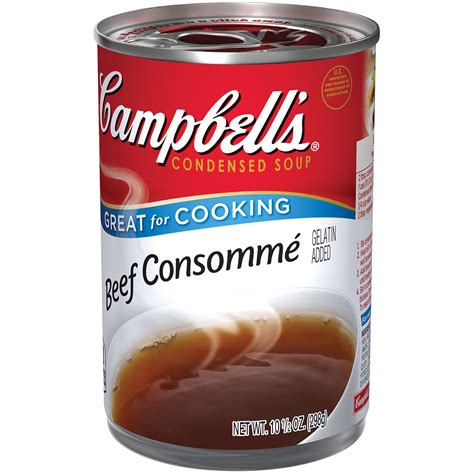 what is consomme can i use beef consomme instead of beef broth