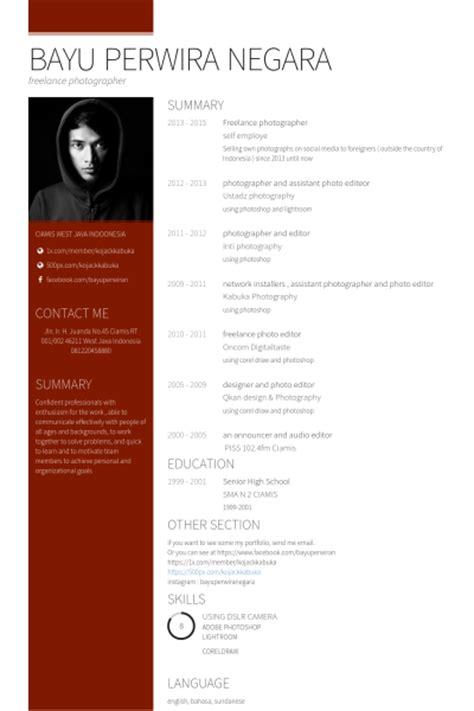 Freelance Photojournalist Resume by Freelance Photographer Resume Sles Visualcv Resume Sles Database