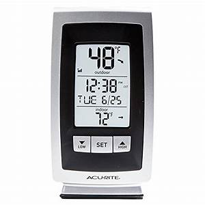 Top 21 For Best Outdoor Clock Thermometer In 2019