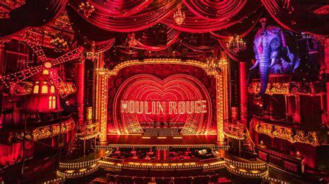 baz luhrmanns moulin rouge    lavish stage musical