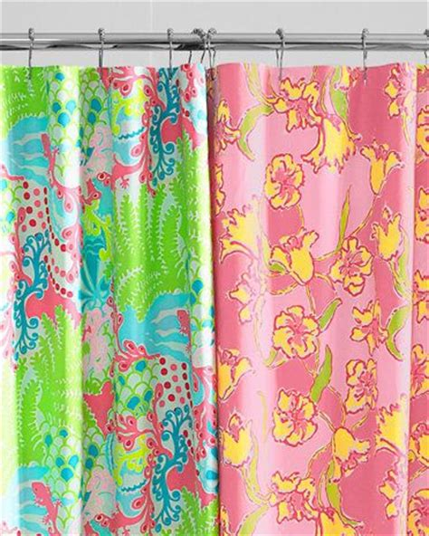 lilly pulitzer curtains lilly pulitzer shower curtains and florals on