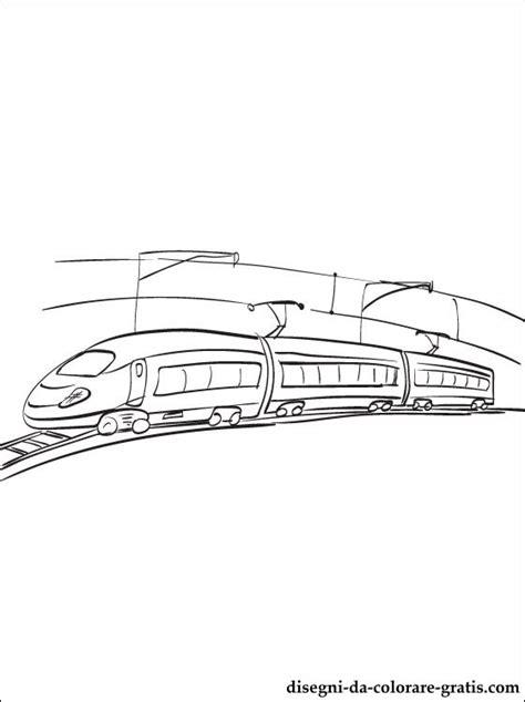 disegno treno elettrico da stampare disegni da colorare