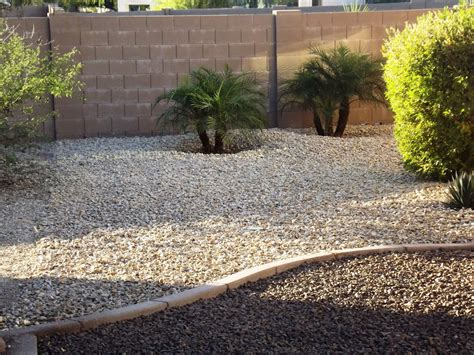 gravel landscape phoenix landscaping design and installation gravel