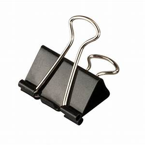 Crown Bolt Medium Black Binder Clip (25 per Pack)-66187