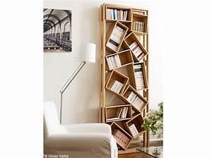 Bibliothèque Design Bois : biblioth ques design nos 11 solutions pr f r es elle ~ Teatrodelosmanantiales.com Idées de Décoration