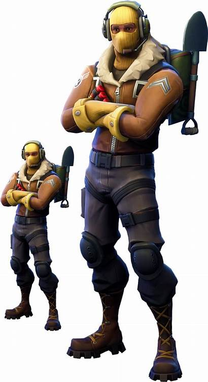 Fortnite Raptor Skin Clipart Double Them 1020