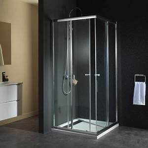 Porte Coulissante Angle Droit : porte de douche portes coulissantes design sur planete bain ~ Melissatoandfro.com Idées de Décoration