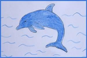 Comment Dessiner La Mer : comment dessiner un dauphin cabane id es ~ Dallasstarsshop.com Idées de Décoration
