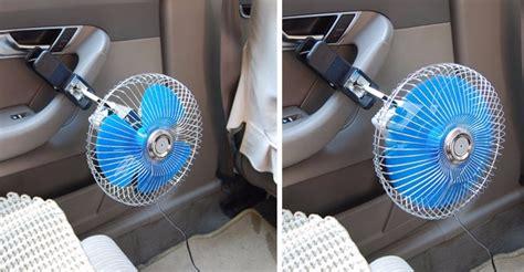 small fan for car 12v portable vehicle auto car fan oscillating van truck
