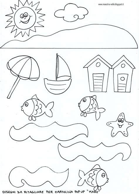 nuovo disegni da colorare estate mare migliori pagine da